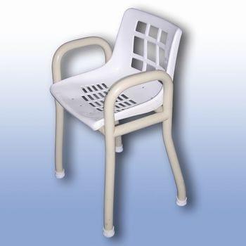 Static shower stool