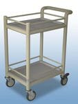 Small trolley with trays