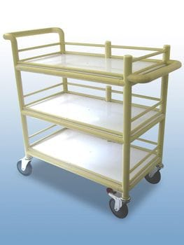 Water jug trolley 3 shelf