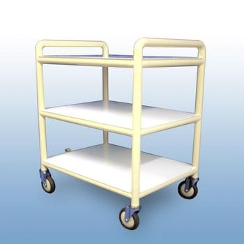 Multi-purpose trolley 3 x shelves