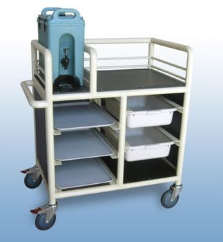 2 x Bay, Single Urn trolley - Enclosed
