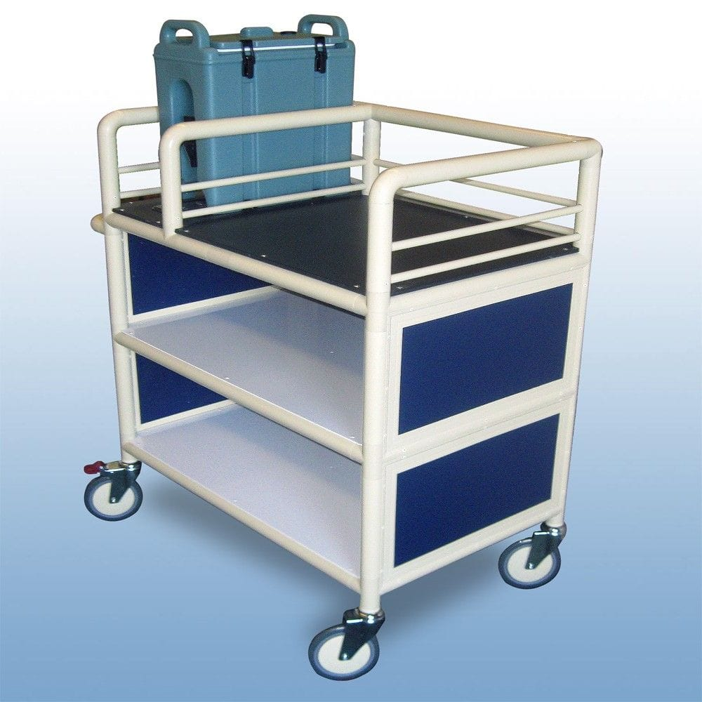 2 x Shelf, Single Urn trolley