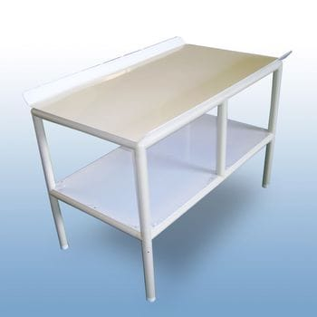 Static laundry folding table