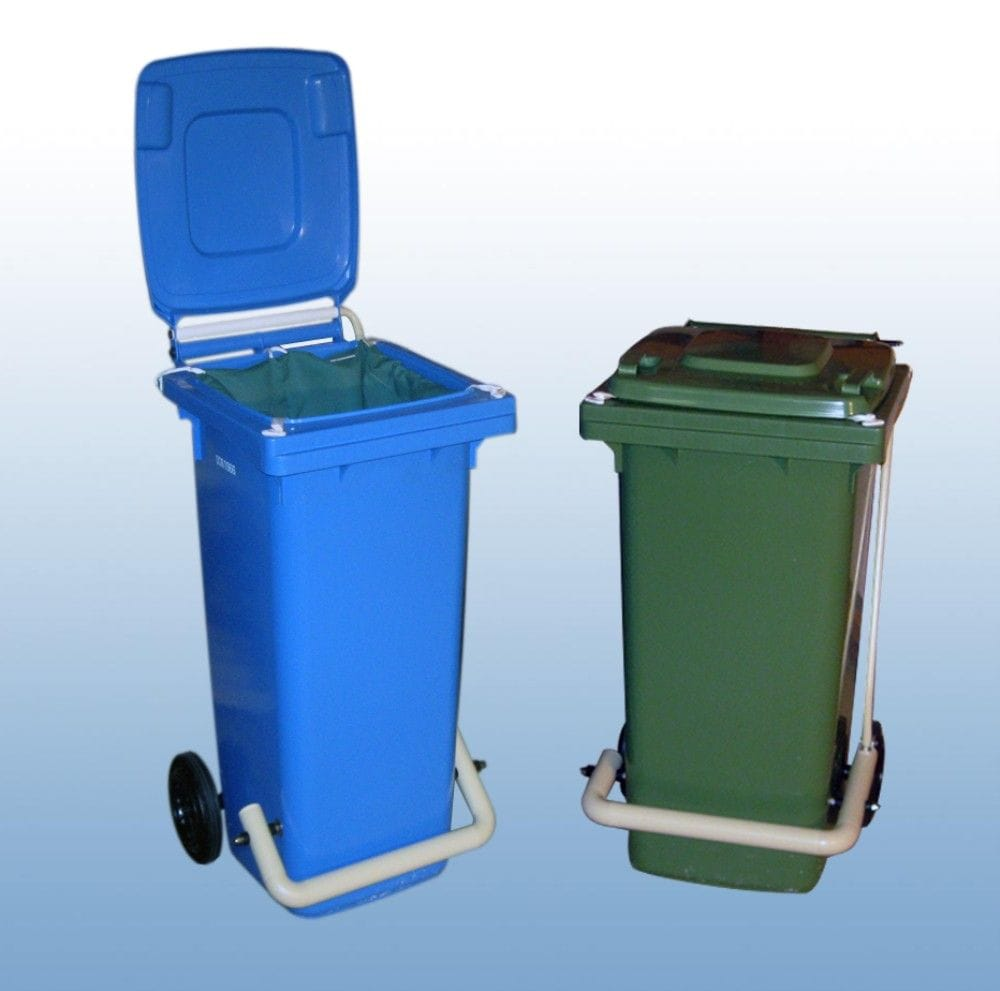 80Litre Foot operated wheelie bin
