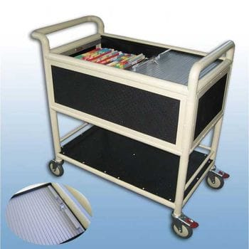 Suspension file  trolley Lockable