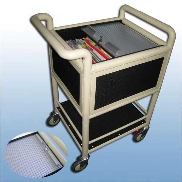 Half Size Suspension file trolley Lockable
