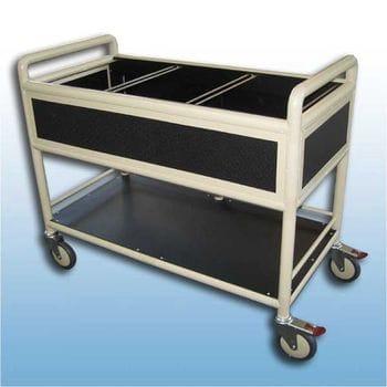 Suspension file trolley