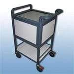 Half Size Suspension file trolley Lockable