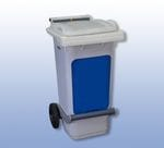 Foot Operated Wheelie Bin - Front Emptying (80L)