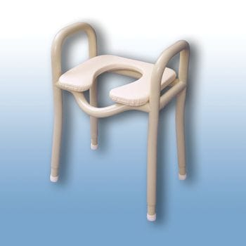 Adjustable over toilet / shower stool