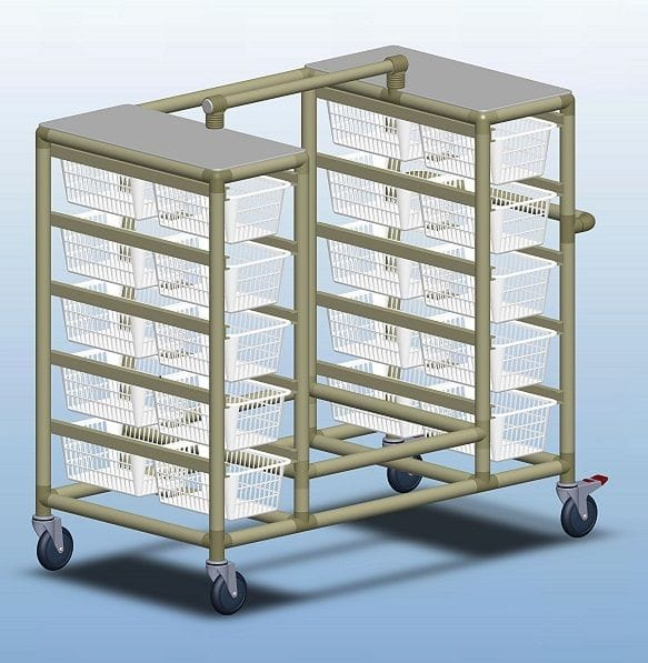 20 Basket valet Trolley