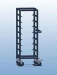 Single Bay 8 x Tray service trolley