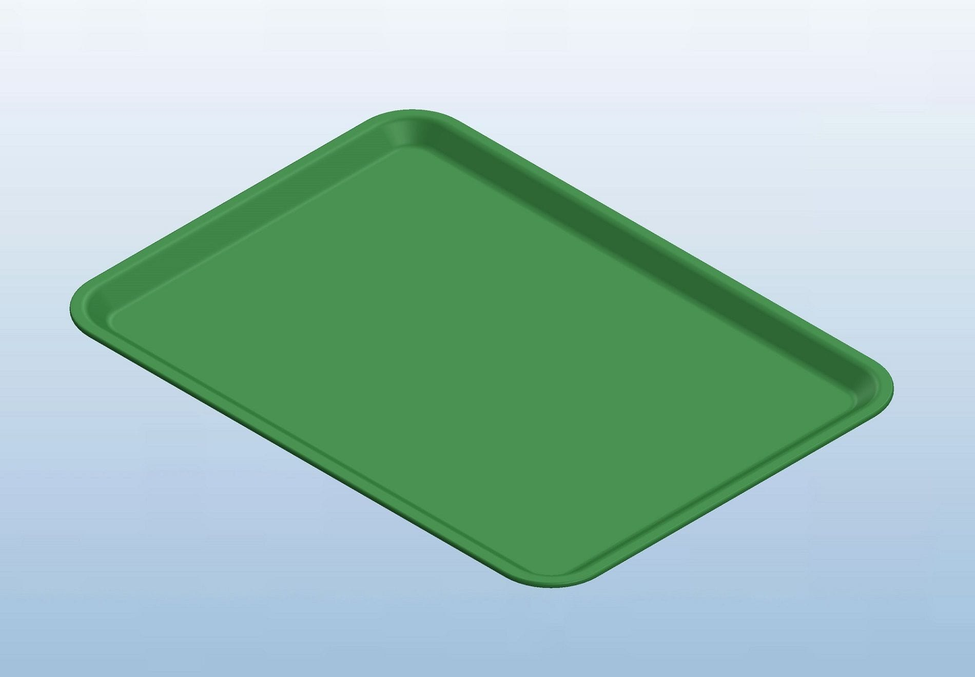 Green Dietary Trays
