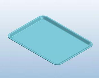 Blue Dietary Tray