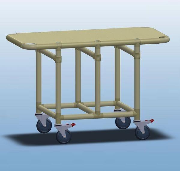 Patient transfer Trolley