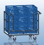 Milk Crate Trolley
