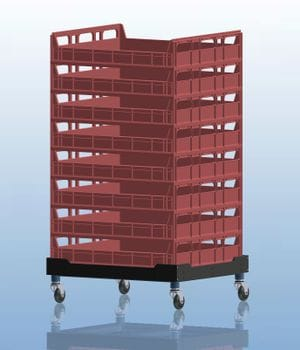 Bread Crate Dolly