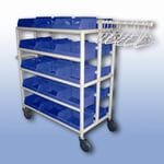 30 Tub Compact Laundry Trolley