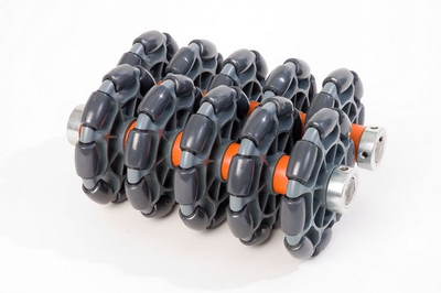 Rotacaster Wheels are manufactured from engineering polymer making them highly durable and ideal for tough environments.