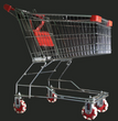 Finally there is an alternative to the bothersome swivel castor.  When placed on a shopping trolley, rotacaster omniwheels provide easy steering control and prevent runnaway loads.