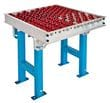 Conveyor Transfer Table using Rotacaster 48mm omni-wheels - the perfect alternative to ball transfer units