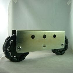 Rotacaster 125mm Double, 85A GG polyurethane, MultiMount, 2 x GGR2-125