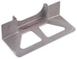 "Toe Plate, Alum. Die Cast 457x190mm (18""x7.5"")"