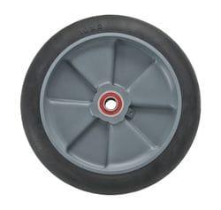 "Wheel, 250mm (10"") balloon cushion with 5/8"" premium bearing (1030)"