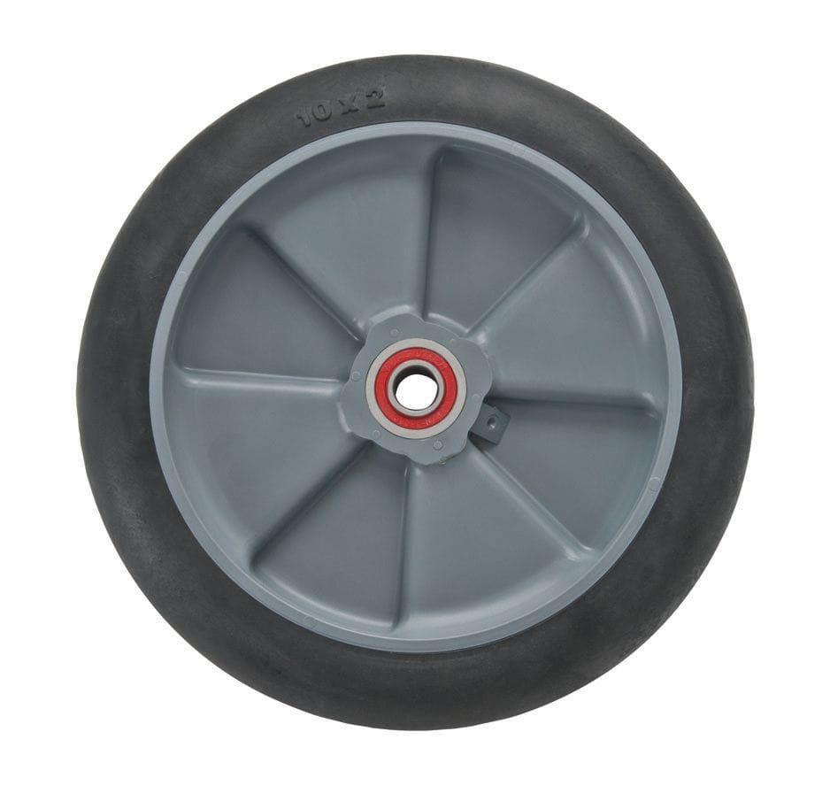 "Wheel, 200mm (8"") balloon cushion with 5/8"" premium bearing (830)"