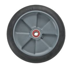 "Wheel, 200mm (8"") balloon cushion with 5/8"" premium bearing (830)"