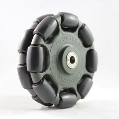 Rotacaster 125mm Double, 85A GG polyurethane, 10mm shielded bearing