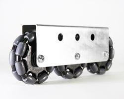 Rotacaster 125mm Double, 85A GG polyurethane, MultiMount, 3 x GGR2-125