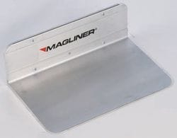 "Toe Plate, Alum. Extruded  356x228mm (14""x9"")"