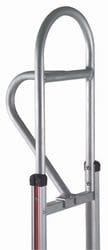 "Handle, Alum, Vertical Loop 60"" for straight back frame"