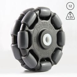 Rotacaster 125mm Double, 95A polyurethane, 12mm Nylon bushing