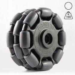 Rotacaster 125mm Triple, 95A polyurethane, 22mm bearing seat