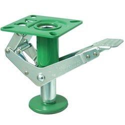 Floor Lock, Lift Up, 148/150mm Ht, green, 900-2
