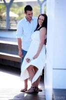 Adam & Mia Engagement Photos - Broadwater Parklands