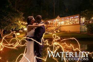 Jana & Dom - Wedding sparklers