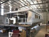 Fixtech Fix15 Aluminium panel bonding and sealing, Houseboat.