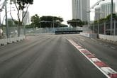 Fixtech Fix190 Bonding Rubber to Rubber curbing for the Singapore F1 Grand Prix.